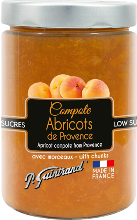 compote abricots 580ml