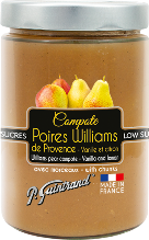 compote poires williams 580ml