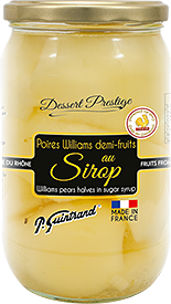 poires williams demi au sirop 720ml