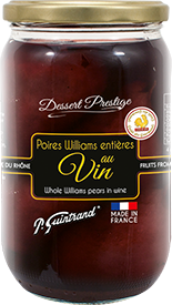 poires williams entieres au vin 720ml